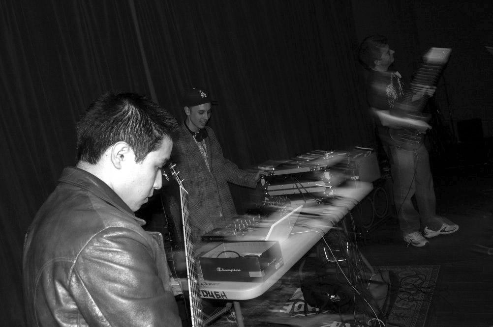 rockin the stage