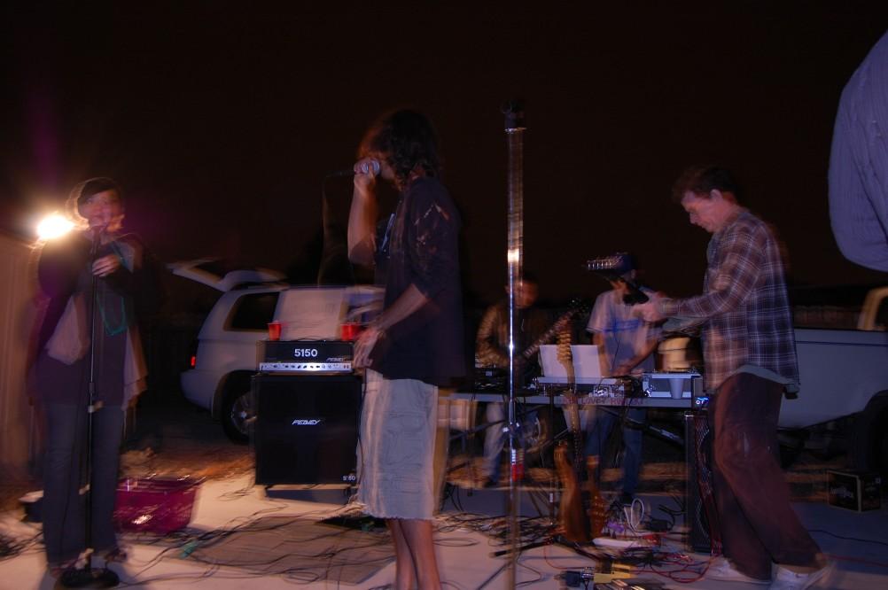 pom on stage