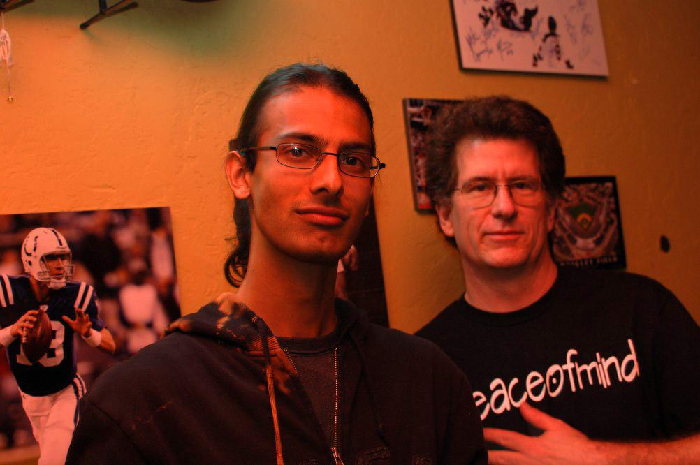 dirck and pakman before the show